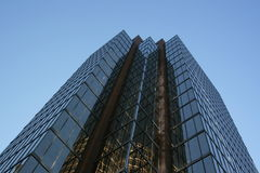 башня корпоративного офиса Стоковая Фотография