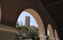 башня Корсики Франции bonifacio каменная Стоковое Фото