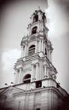 башня колокола старая Троица Sergius Lavra, Sergiev Posad, Россия Мир Herit ЮНЕСКО Стоковое фото RF