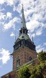 башня колокола старая Стоковое Изображение