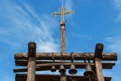 башня колокола старая Стоковые Фото