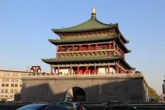 башня колокола xian Стоковая Фотография