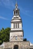 Башня Крайстчёрча Greyfriars в Лондоне стоковые изображения rf