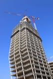 башня крана конструкции вниз Стоковое Изображение RF