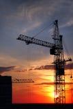 башня крана Стоковое Фото