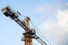 Башня кранов индустриального строительства Стоковая Фотография RF