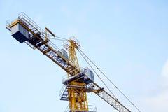Башня кранов индустриального строительства Стоковое Изображение RF