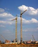 башня кранов Стоковое Изображение RF