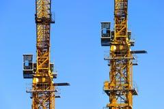 башня 2 кранов Стоковая Фотография RF
