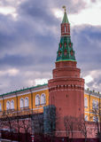 Башня Кремля в Москве стоковое изображение