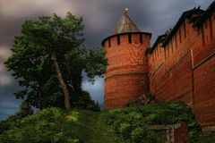 Башня Кремля, Nizhny Novgorod, Россия Стоковое Фото