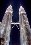 башня Куала Лумпур Малайзии klcc Стоковое Фото