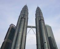 башня Куала Лумпур Малайзии petronas Стоковые Изображения