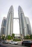 башня Куала Лумпур Малайзии petronas Стоковое Изображение