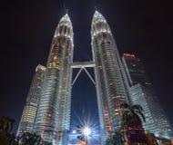 башня Куала Лумпур Малайзии petronas Стоковое Фото
