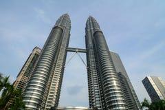 башня Куала Лумпур Малайзии petronas Стоковое Изображение RF