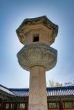 Башня Кёнджу виска Bulguksa Стоковое Изображение RF
