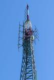 Башня клетки - высокий передатчик Стоковое фото RF