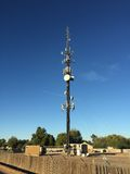 Башня клетки связи Стоковые Фото