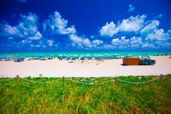 Башня личной охраны в Miami Beach, южном пляже Флорида США Стоковое Изображение