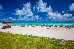 Башня личной охраны в Miami Beach, южном пляже Флорида США Стоковое Фото