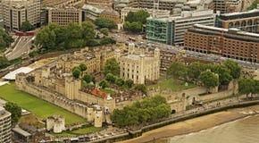 Башня Лондона от черепка Стоковая Фотография