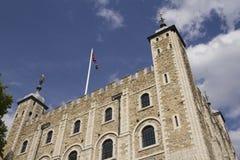 Башня Лондона - части исторических королевских дворцов, дома t Стоковые Фотографии RF