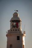 башня маяка Гибралтара Стоковое Изображение RF