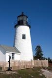 Башня маяка пункта Pemaquid Стоковые Изображения RF