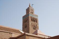 башня мечети Марокко минарета стоковое фото