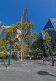 Башня Мельбурна Eureka вертикально Стоковое Изображение