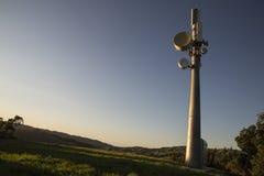 башня микроволны Стоковое Изображение