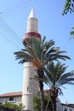 башня минарета Кипра Стоковые Изображения RF