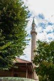 Башня минарета мечети Стоковое фото RF