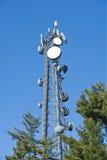 башня мобильного телефона Стоковое Фото