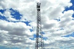 Башня мобильного телефона Стоковое Изображение