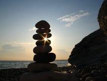 башня моря камушка Стоковое Изображение RF