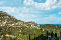башня моря sanguinaire parata островов Корсики Франции береговой линии ajaccio среднеземноморская близкая Стоковая Фотография RF