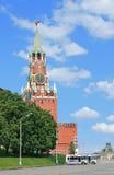 башня Москва Кремль в полдень стоковое изображение