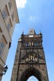 Башня моста городка Карлова моста старая, Прага Стоковые Изображения RF