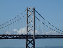 башня моста залива Стоковая Фотография