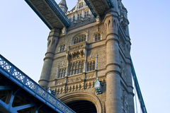башня моста зодчества Стоковая Фотография RF