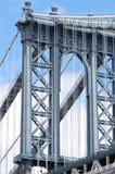 Башня моста Манхаттан Стоковые Фотографии RF