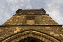 Башня моста Чарльза Стоковые Изображения RF
