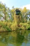 Башня наблюдать птицы Стоковая Фотография