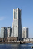 башня 2011 наземного ориентира принятая весной yokohama Стоковые Изображения