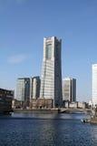 башня 2011 наземного ориентира принятая весной yokohama Стоковые Фотографии RF