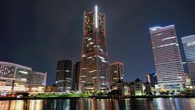 башня 2011 наземного ориентира принятая весной yokohama Стоковая Фотография RF