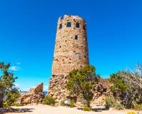Башня на гранд-каньоне Аризоне Стоковые Изображения RF