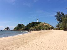 Башня на море Стоковое фото RF